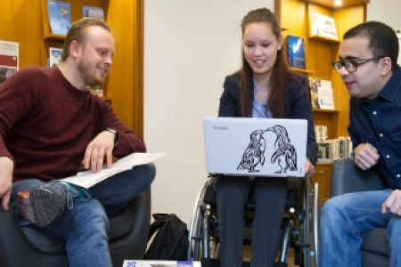 Project Drempelloos Studeren: Support For Students With Visible And Invisible Disabilities